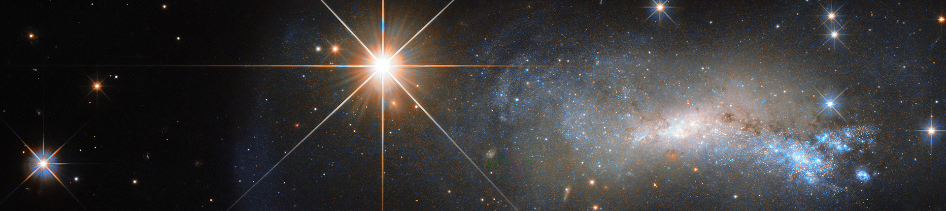 Hubble's Bright Shining Lizard Star